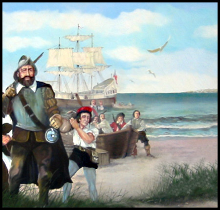 the first settlers to america in the early 1600s That little-remembered century—1600 to 1700—that began with the founding ( and foundering) of the first permanent english settlement in america, the one.