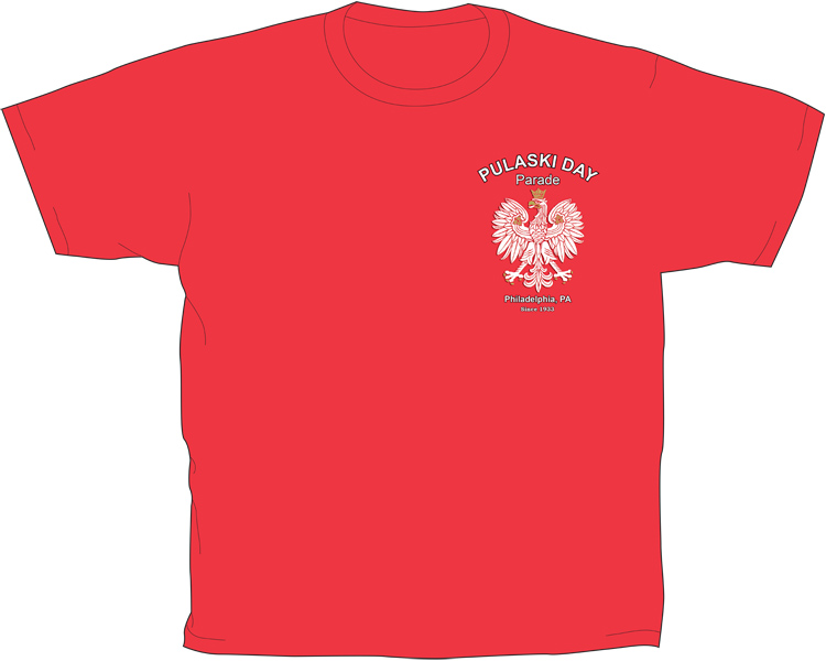 Pulaski Day Parade T-Shirt